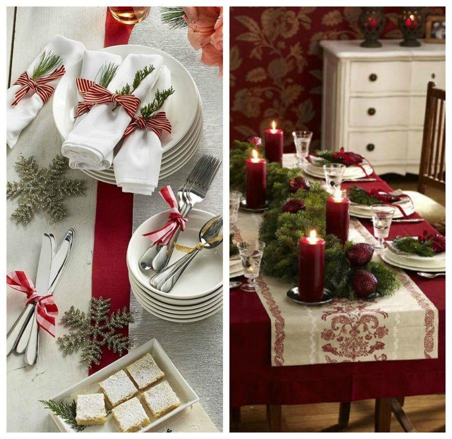 Minimal country chic o trendy la tua tavola natalizia bigodino - Decorare la tavola a natale ...