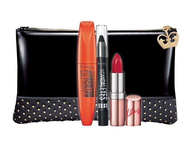 Rimmel Christmas Collection 2016 Limited Edition, Scandal'eyes Reloaded Kit: mascara e matita black, 9.90 euro.