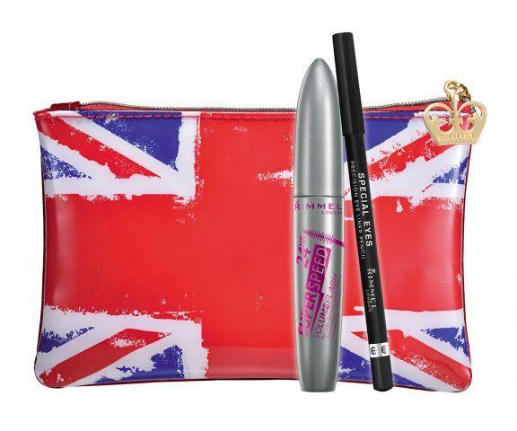 Rimmel Christmas Collection 2016 Limited Edition, Extra Super Lash Kit con mascara e matita, 8.90 euro.