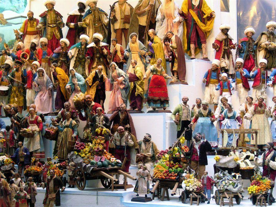 Presepi in San Gregorio Armeno a Napoli