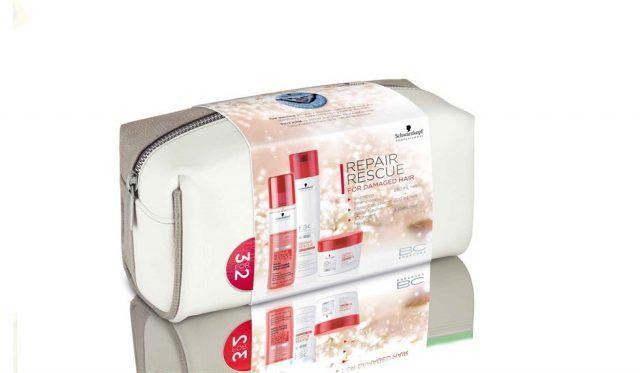 Schwarzkopf Professional, le Christmas Bag con diversi trattamenti per i capelli. Per ogni confezione venduta, parte del ricavato sarà devoluto al progetto Shaping Futures in collaborazione con SOS Children's Villages.