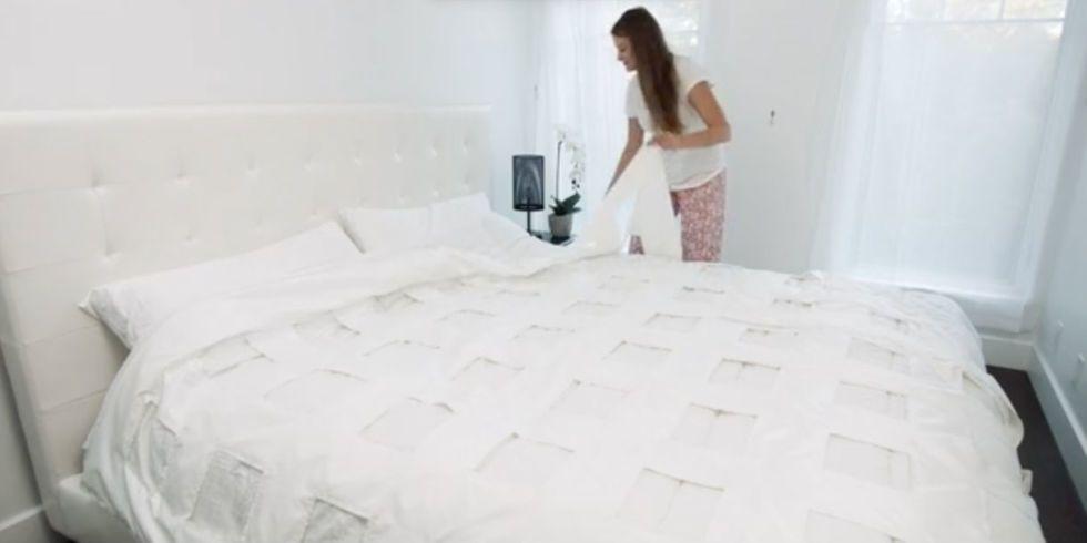 Grazie a un ventilatore il letto si rifà da solo