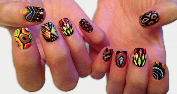 Nails Art: La Nail Art Con Opere D'arte Da Sfoggiare Sulle Mani