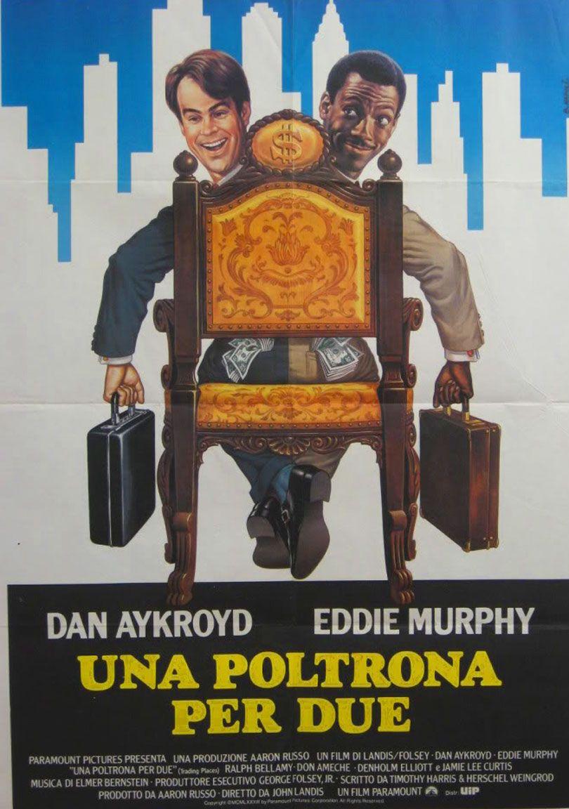 Eddie Murphy e Dan Aykroyd in Una poltrona per due