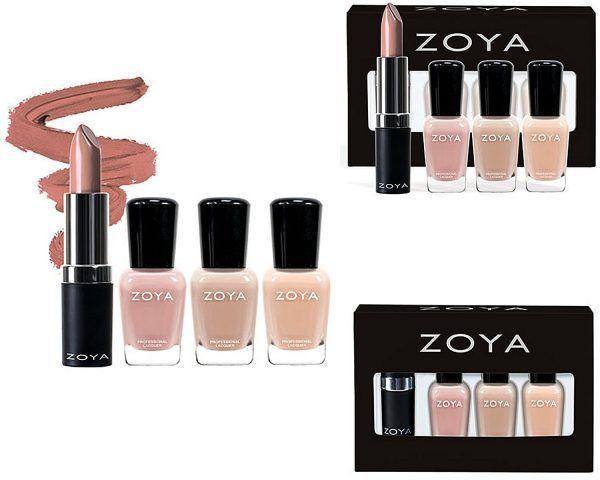 Zoya Lips & Tips holiday quad