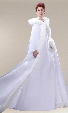 abito da sposa cappotto sposamore.com