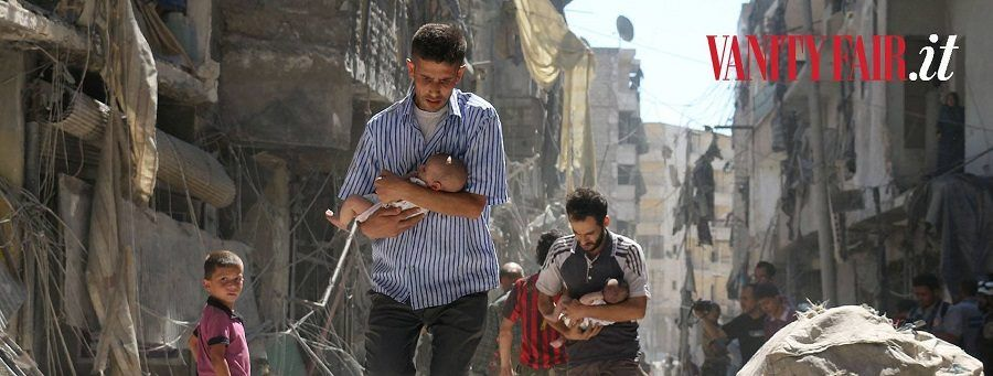 La foto di Aleppo di Vanity Fair