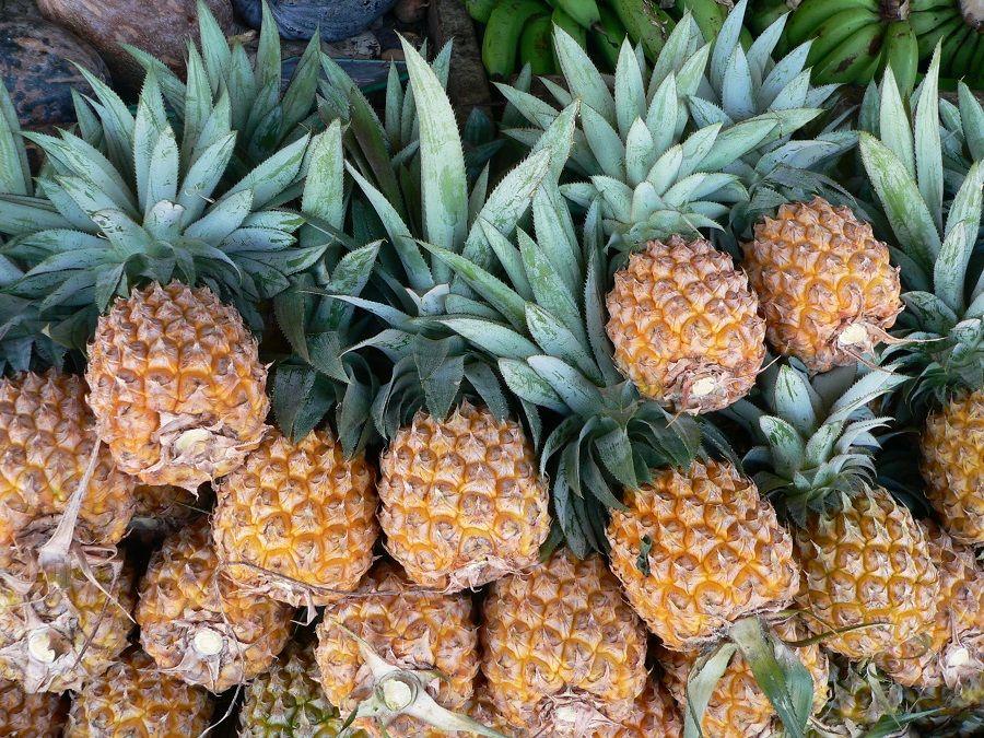 C'è un ananas maturo qui?