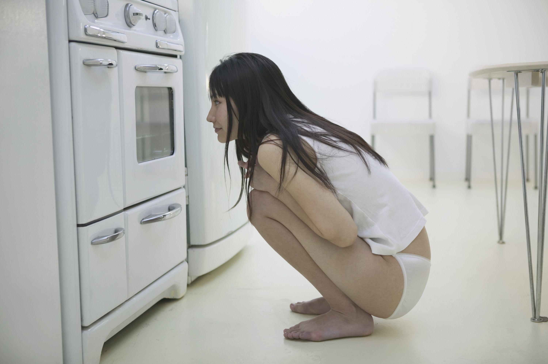 in cucina guardate un pò quanti squat facciamo....