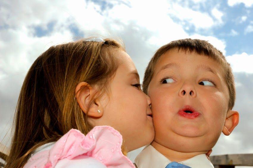 Baci e abbracci sono sentimenti che nascono dal cuore...
