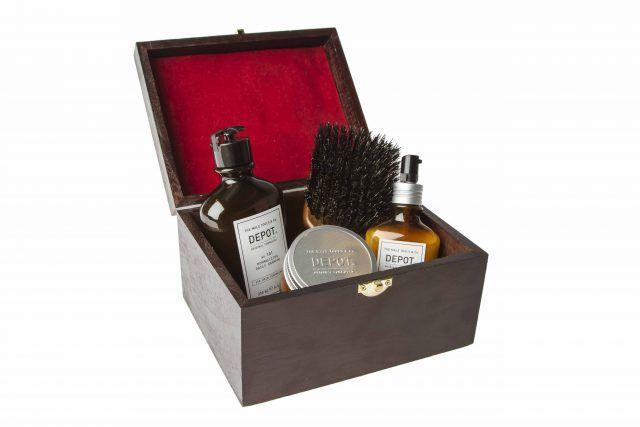 Depot, Xmas gift box da creare con i prodotti preferiti: hair cleansings, hair treatments, hair stylings, shave specific, beard & moustache specifics.