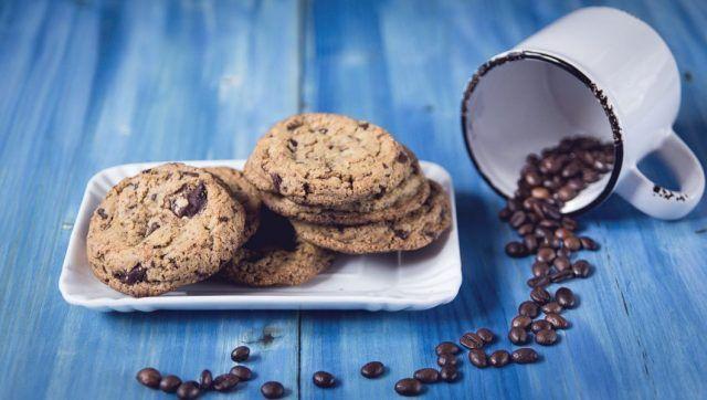 Biscotti al caffè e cioccolato