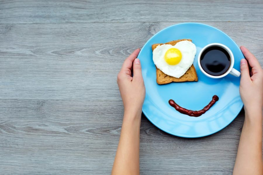...iniziare la mattina con un sorriso... cosa saggia!