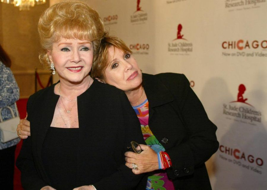 Debbie Reynolds e Carrie Fisher