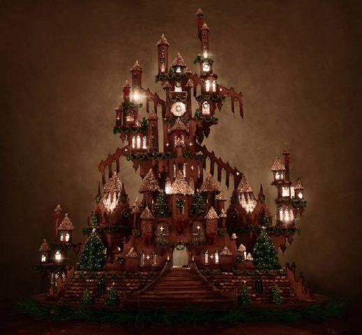 Il castello di pan di zenzero