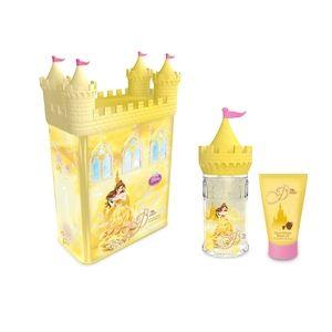 Castello salvadanaio in latta Principessa Gel, con eau de toilette e shower gel, 14.90 euro.