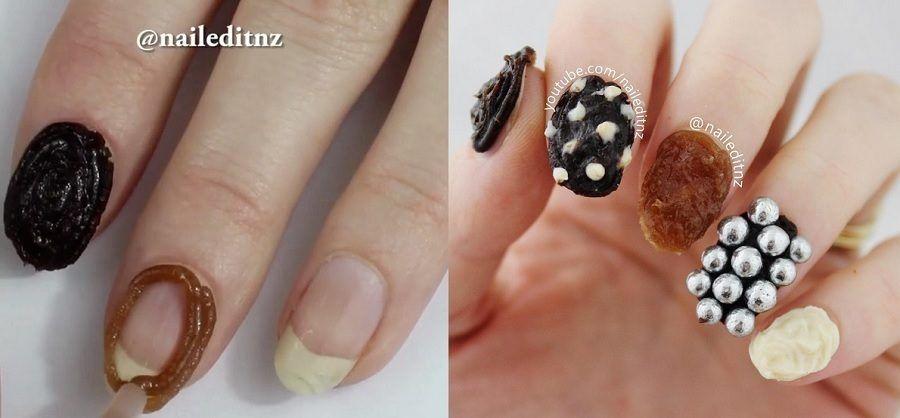La Chocolate Nail Art, tutta da mangiare
