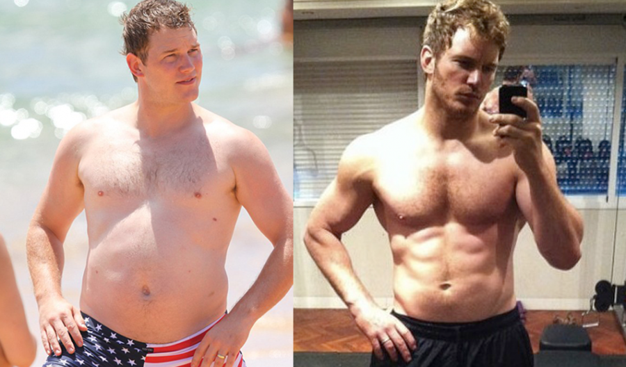 Chris Pratt sovrappeso