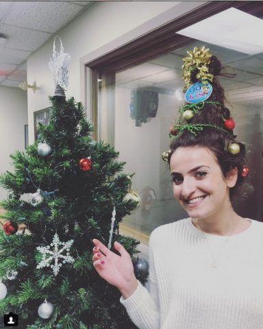 Doppio albero di Natale