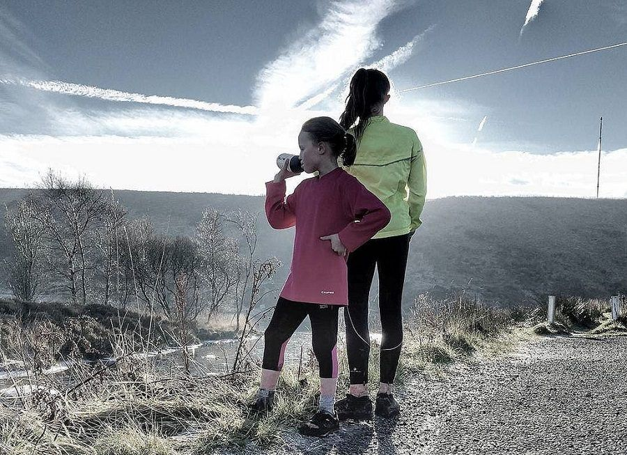 Copriti bene e corri con un amico