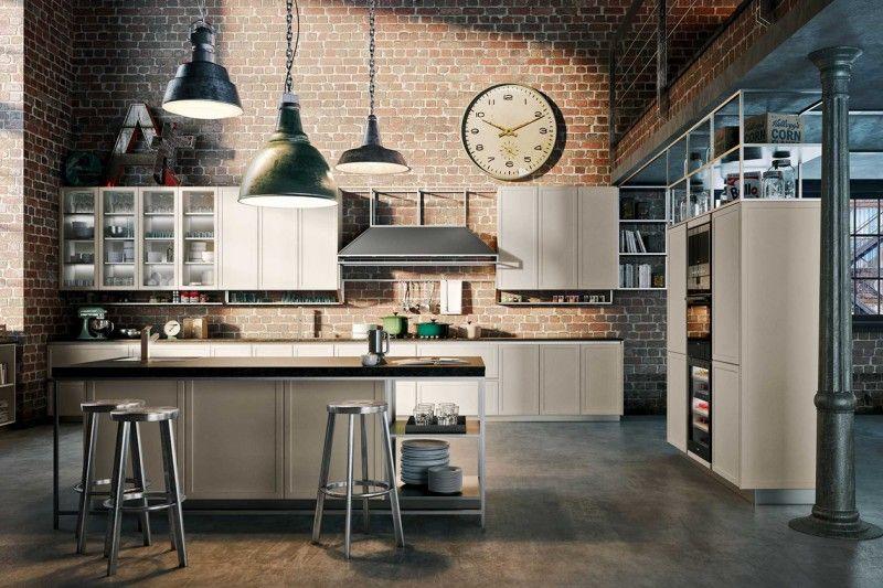 Industrial style in cucina bigodino