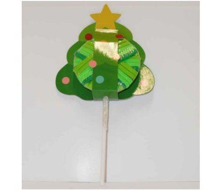 Set elastici per capelli ad albero di Natale, Emanuela Biffoli, 16.47 euro.