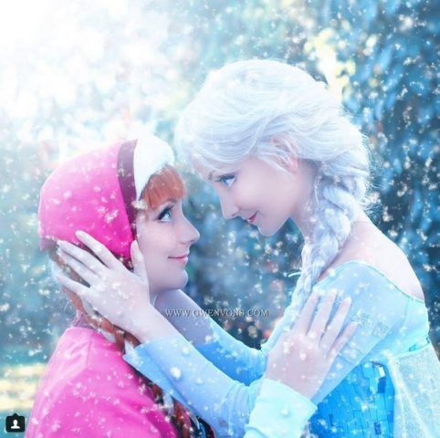 Elsa e Anna, le sorelle Damiani