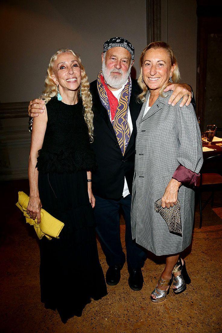 Con Bruce Weber al Festival di Venezia nel 2013.