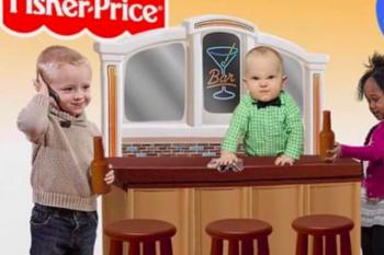 Davvero la Fischer Price ha inventato il gioco Happy Hour?