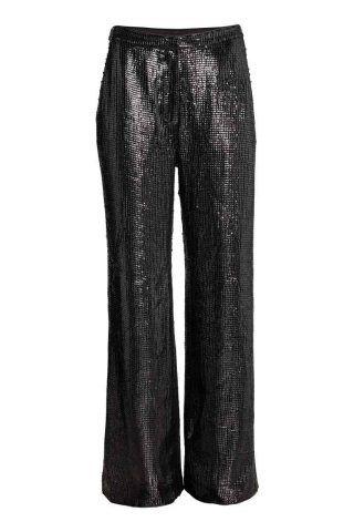 Pantaloni ampi di paillettes H&M €59,99