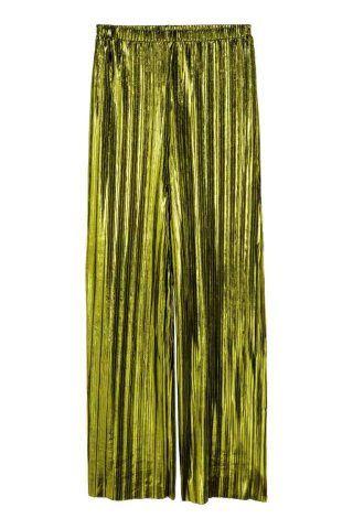Pantaloni metallizzati H&M €39,99