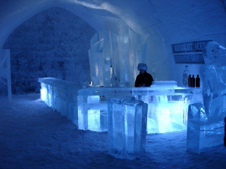Tutto è fatto di neve e ghiaccio!
