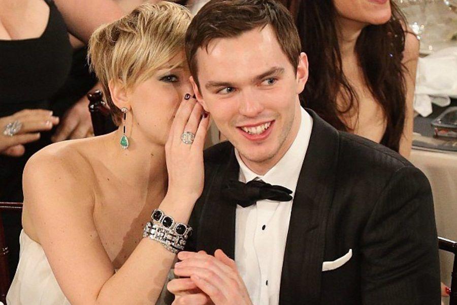 Nicholas Hoult e Jennifer Lawrence