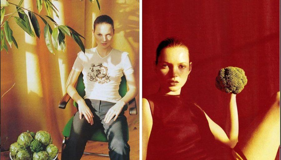 Kate Moss fruttivendola?