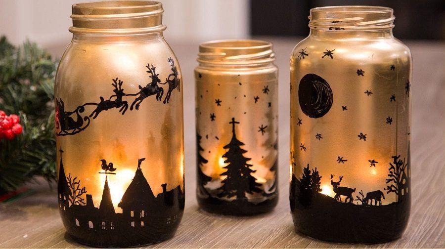 Lampade fai da te idee per decorare e da regalare bigodino - Decorare lanterne ...