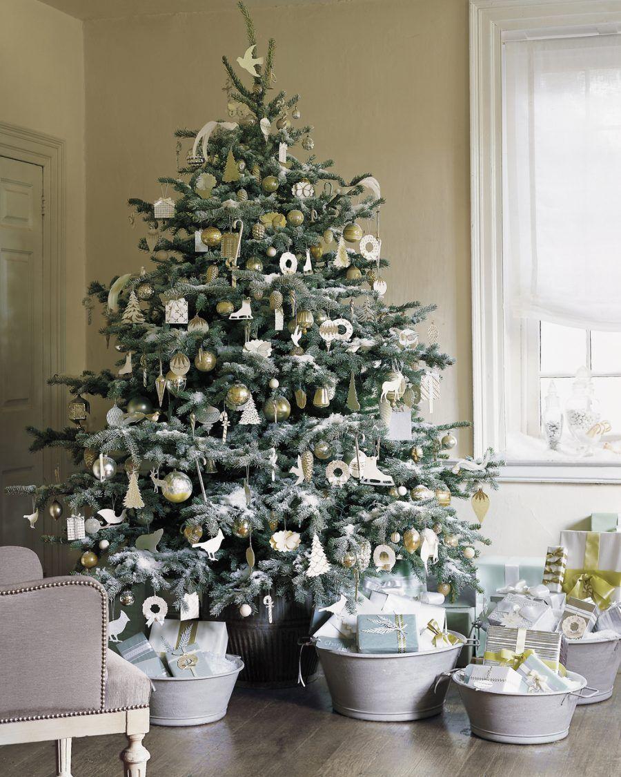 Foto Alberi Di Natale Bianchi diy: 30 decorazioni per il tuo albero di natale | bigodino