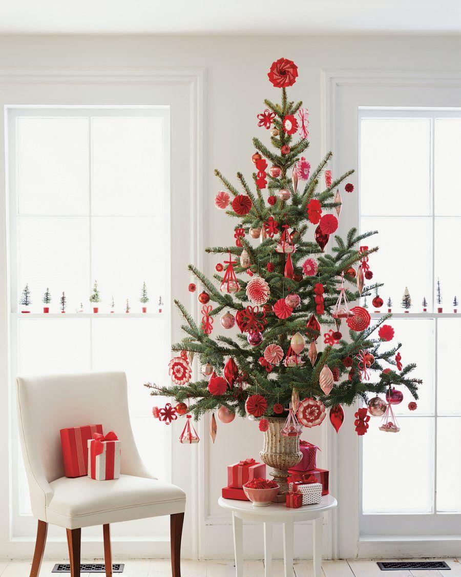 Xmas Tree Decorations With Ribbons: DIY: 30 Decorazioni Per Il Tuo Albero Di Natale