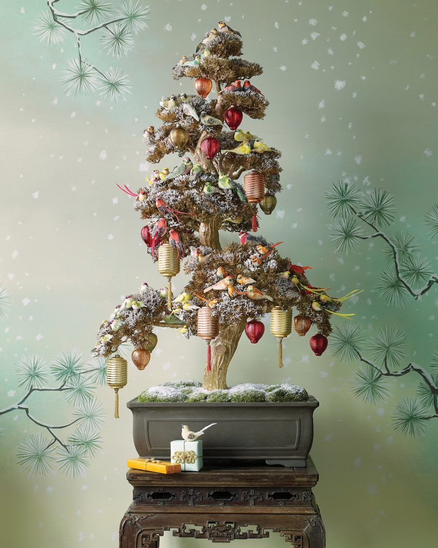 Popolare DIY: 30 decorazioni per il tuo albero di Natale   Bigodino NC05