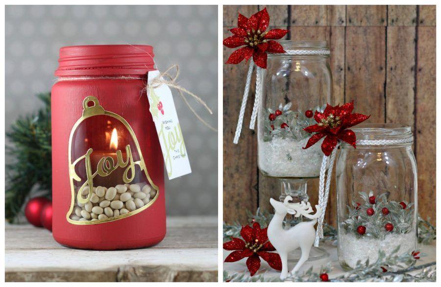 Candele pot pourri e altri aromi fai da te per natale bigodino - Portacandele natalizi fai da te ...