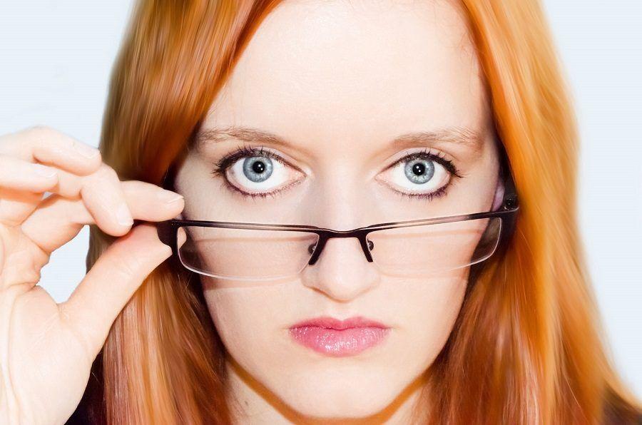 Provate ogni tanto a spostare gli occhiali per ridurre la pressione