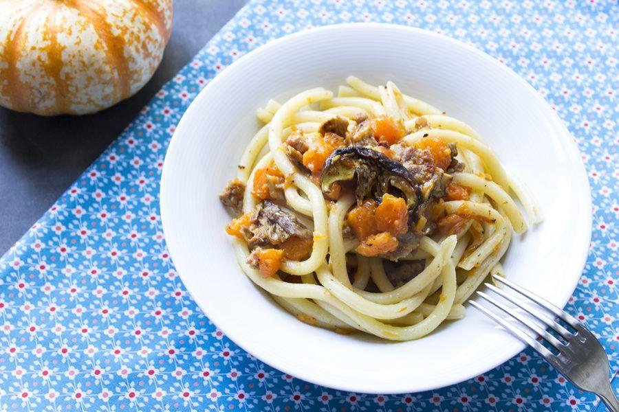 pasta-con-zucca-salsiccia-funghi-3-contemporaneo-food
