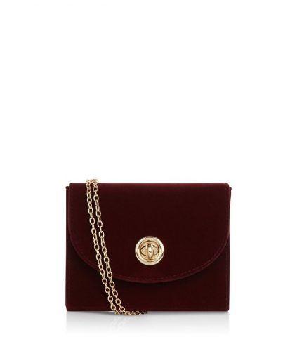 -Red Velvet Box Bag New Look €7