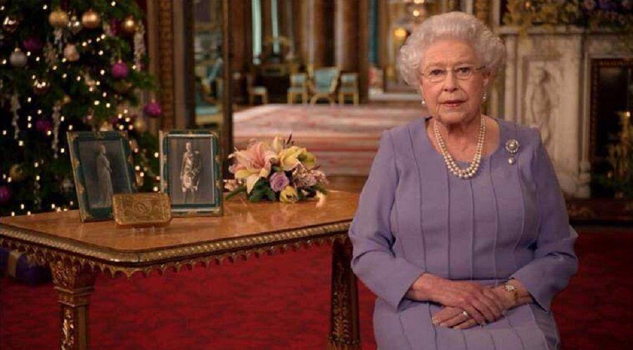 La Regina Elisabetta a Natale