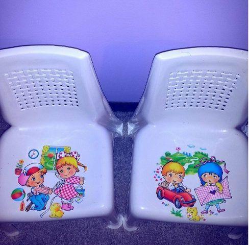 Decoupage sedia di plastica