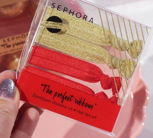 Sephora, The Perfect Ribbons, 4 elastici per fiocchi perfetti.