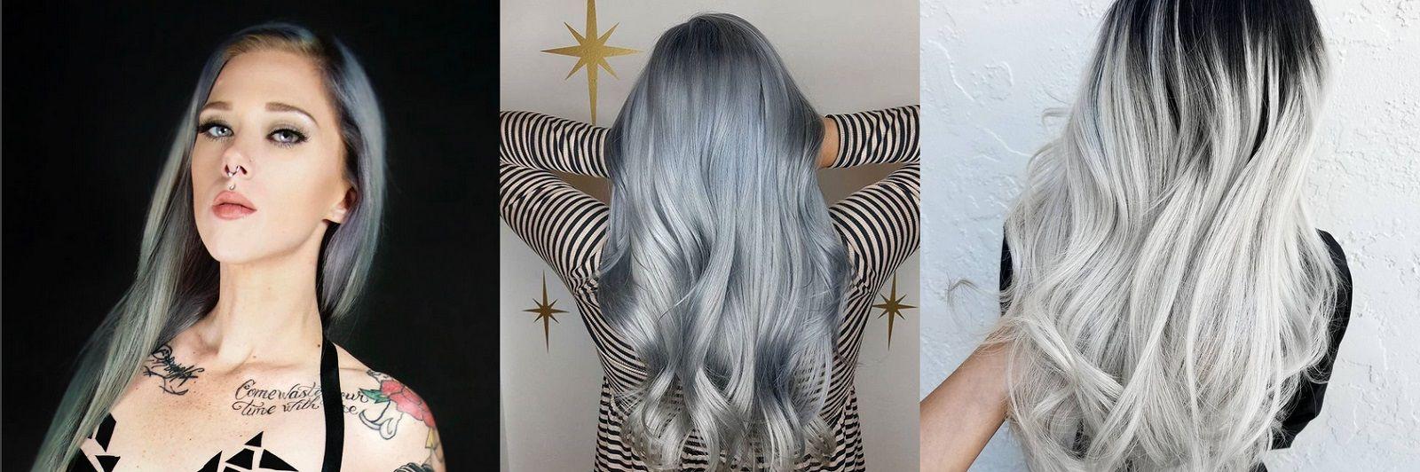 A chi stanno bene i capelli grigio o silver?