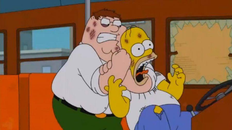 I Griffin con I Simpson