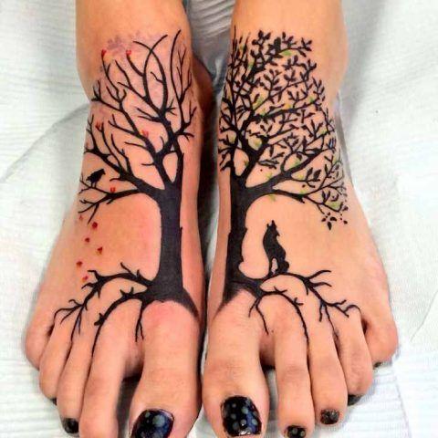Tatuaggi con l'albero della vita