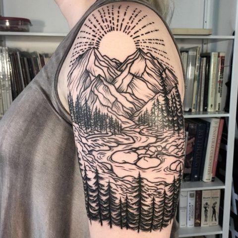 Tatuaggi ispirati al mondo della natura