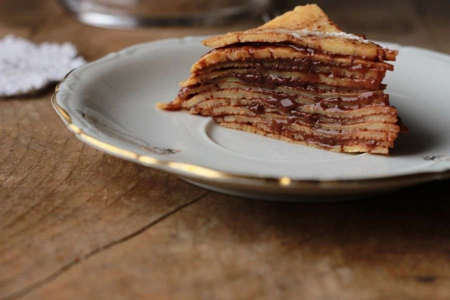 Torta mille crepes